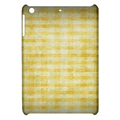 Spring Yellow Gingham Apple Ipad Mini Hardshell Case by BangZart