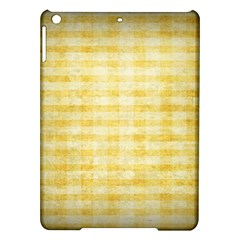 Spring Yellow Gingham Ipad Air Hardshell Cases by BangZart