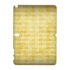 Spring Yellow Gingham Galaxy Note 1 by BangZart