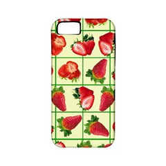 Strawberries Pattern Apple iPhone 5 Classic Hardshell Case (PC+Silicone)