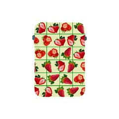 Strawberries Pattern Apple Ipad Mini Protective Soft Cases by SuperPatterns