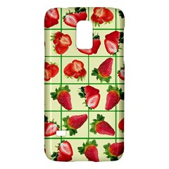 Strawberries Pattern Galaxy S5 Mini by SuperPatterns