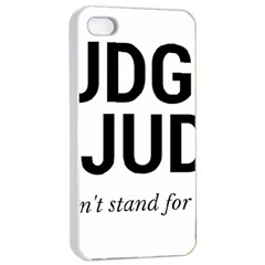 Judge Judy Wouldn t Stand For This! Apple Iphone 4/4s Seamless Case (white) by theycallmemimi