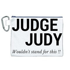 Judge judy wouldn t stand for this! Canvas Cosmetic Bag (XL) by theycallmemimi