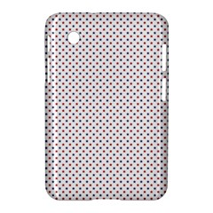 Usa Flag Red And Flag Blue Stars Samsung Galaxy Tab 2 (7 ) P3100 Hardshell Case  by PodArtist