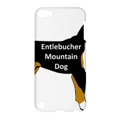 Entlebucher Mt Dog Name Silo Color Apple iPod Touch 5 Hardshell Case by TailWags