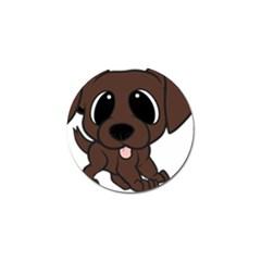 Newfie Brown Cartoon Golf Ball Marker (10 pack) by TailWags