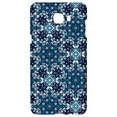 Boho Blue Fancy Tile Pattern Samsung C9 Pro Hardshell Case  by KirstenStar