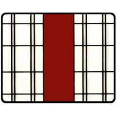 Shoji   Red Double Sided Fleece Blanket (medium)  by RespawnLARPer