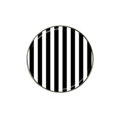 Classic Black and White Football Soccer Referee Stripes Hat Clip Ball Marker (10 pack)