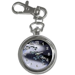 Abstract Black And Gray Tree Key Chain Watches by BangZart