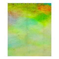 Abstract Yellow Green Oil Shower Curtain 60  X 72  (medium)  by BangZart
