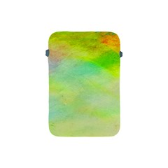 Abstract Yellow Green Oil Apple Ipad Mini Protective Soft Cases by BangZart