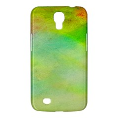 Abstract Yellow Green Oil Samsung Galaxy Mega 6 3  I9200 Hardshell Case by BangZart