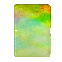 Abstract Yellow Green Oil Samsung Galaxy Tab 2 (10 1 ) P5100 Hardshell Case  by BangZart