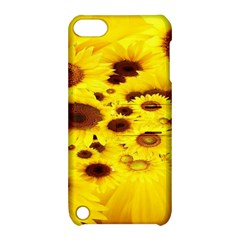 Beautiful Sunflowers Apple Ipod Touch 5 Hardshell Case With Stand by BangZart