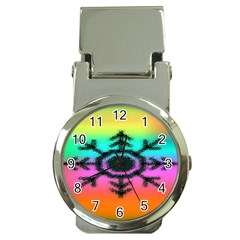 Vector Snowflake Money Clip Watches by BangZart