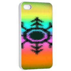 Vector Snowflake Apple Iphone 4/4s Seamless Case (white) by BangZart