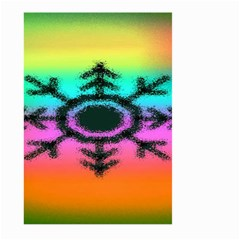 Vector Snowflake Large Garden Flag (two Sides) by BangZart