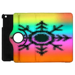 Vector Snowflake Apple Ipad Mini Flip 360 Case by BangZart