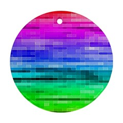 Pretty Color Ornament (round) by BangZart