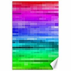 Pretty Color Canvas 20  X 30   by BangZart