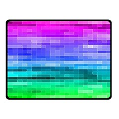 Pretty Color Double Sided Fleece Blanket (small)  by BangZart
