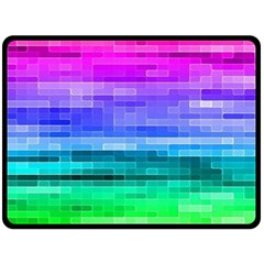 Pretty Color Double Sided Fleece Blanket (large)  by BangZart
