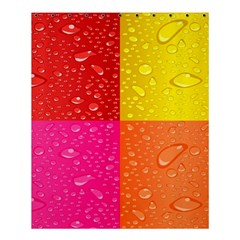 Color Abstract Drops Shower Curtain 60  X 72  (medium)  by BangZart