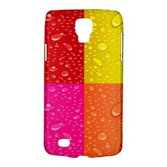 Color Abstract Drops Galaxy S4 Active by BangZart