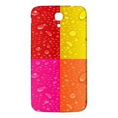Color Abstract Drops Samsung Galaxy Mega I9200 Hardshell Back Case by BangZart