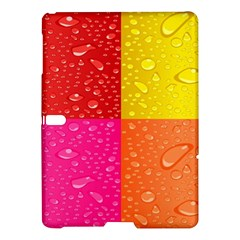 Color Abstract Drops Samsung Galaxy Tab S (10 5 ) Hardshell Case  by BangZart