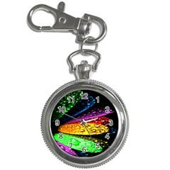 Abstract Flower Key Chain Watches by BangZart