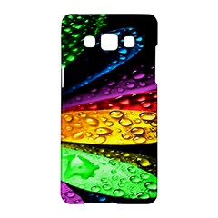 Abstract Flower Samsung Galaxy A5 Hardshell Case  by BangZart