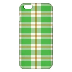 Abstract Green Plaid Iphone 6 Plus/6s Plus Tpu Case by BangZart