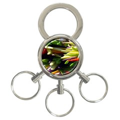 Bright Peppers 3 Ring Key Chains by BangZart