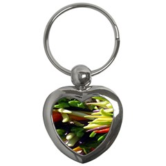 Bright Peppers Key Chains (heart)  by BangZart