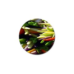 Bright Peppers Golf Ball Marker by BangZart