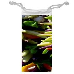 Bright Peppers Jewelry Bag by BangZart