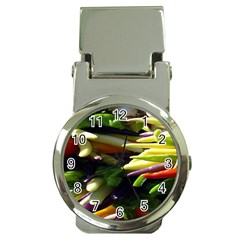 Bright Peppers Money Clip Watches by BangZart