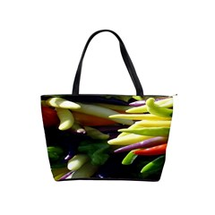 Bright Peppers Shoulder Handbags by BangZart
