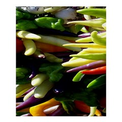 Bright Peppers Shower Curtain 60  X 72  (medium)  by BangZart
