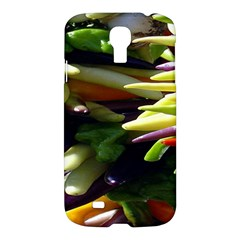 Bright Peppers Samsung Galaxy S4 I9500/i9505 Hardshell Case by BangZart