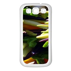 Bright Peppers Samsung Galaxy S3 Back Case (white) by BangZart