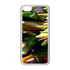 Bright Peppers Apple Iphone 5c Seamless Case (white) by BangZart