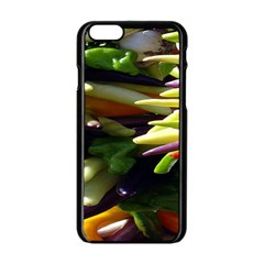 Bright Peppers Apple Iphone 6/6s Black Enamel Case by BangZart