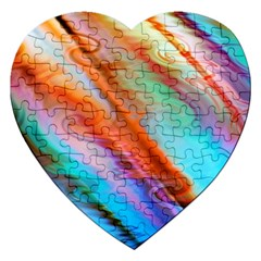 Cool Design Jigsaw Puzzle (heart) by BangZart