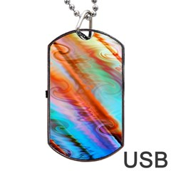 Cool Design Dog Tag Usb Flash (two Sides) by BangZart