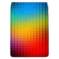 Blurred Color Pixels Flap Covers (s)  by BangZart