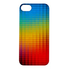 Blurred Color Pixels Apple Iphone 5s/ Se Hardshell Case by BangZart